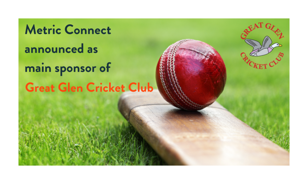 Metric Connect announced as main sponsor for Great Glen Cricket Club